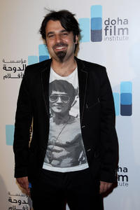 Scandar Copti at the Doha Film Institute Launch Event during the 63rd Cannes Film Festival.