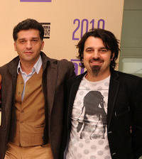 Director Danis Tanovic and Scandar Copti at the 2010 Doha Tribeca Film Festival.