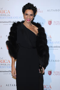 Farida Khelfa at the 2012 International Herald Tribune's Luxury Business in Rome.