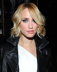 Ruta Gedmintas at the Tommy Hilfiger Fall 2011 Men's Collection in New York.