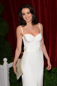Karen Hassan at the 2012 British Soap Awards in London.