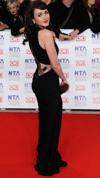 Karen Hassan at the National Television Awards 2012 in London.