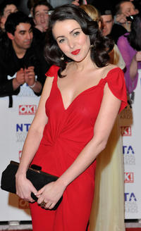 Karen Hassan at the National Television Awards 2011 in London.