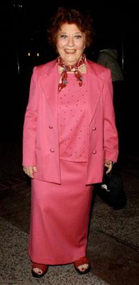 Charlotte Rae at the S.T.A.G.E. tribute to musician Jerry Herman to benefit the Actor's Fund.