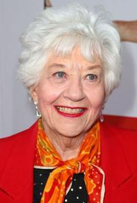 Charlotte Rae at the premiere of