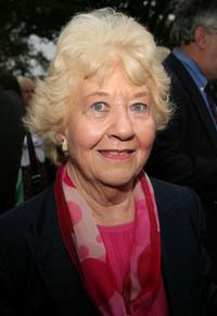 Charlotte Rae at the opening night of