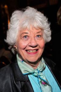 Charlotte Rae at the Actors Fund Musical Mondays With Ron Abel.