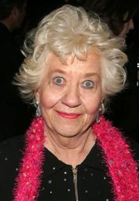Charlotte Rae at the after party of the Broadway opening of