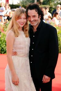 Lea Seydoux and Bruno Todeschini at the 66th Venice Film Festival.
