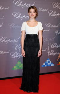 Lea Seydoux at the Chopard Trophy during the 62nd International Cannes Film Festival.