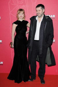 Lea Seydoux and director Christophe Honore at the Cesar Film Awards 2009.