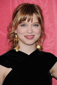 Lea Seydoux at the Cesar Film Awards 2009.
