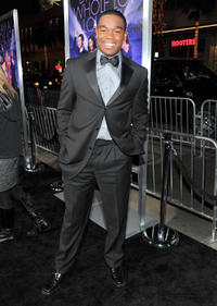Dexter Darden at the world premiere of
