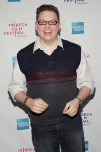 Brandon Hardesty at the premiere of