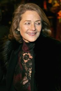 Charlotte Rampling at the premiere of