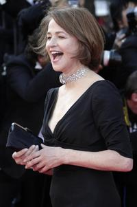 Charlotte Rampling at the 60th edition of the Cannes Film Festival.