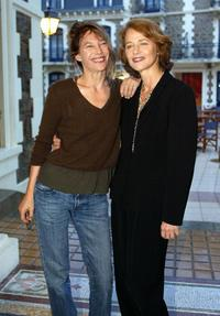 Charlotte Rampling and Jane Birkin at the Dinard British Film Festival.