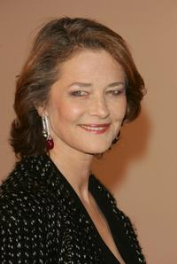 Charlotte Rampling at the Nijinsky Awards Ceremony.