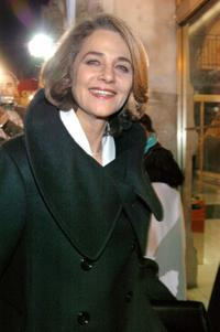 Charlotte Rampling at the 29th Nuit des Cesars.