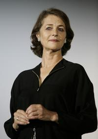 Charlotte Rampling at the opening night of Paris Cinema festival.