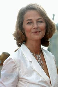 Charlotte Rampling at the premier of the film