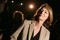 Charlotte Rampling at the presentation of the men's ready-to-wear fall/winter 2006-2007 collections.