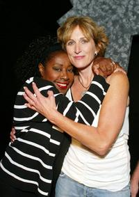 Marion Ramsey and Kathryn Graf at the world premiere of