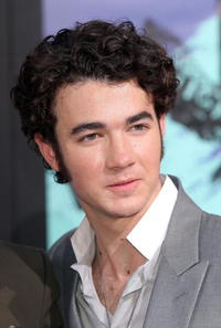 Kevin Jonas at the premiere of