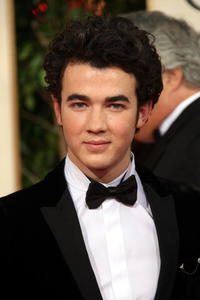 Kevin Jonas at the 66th Annual Golden Globe Awards.