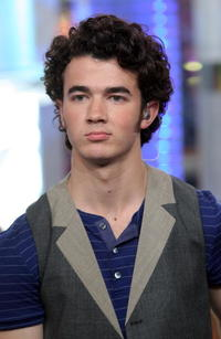 Kevin Jonas at the MTV's Total Request Live.