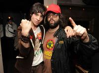 Ezra Miller and Judah Friedlander at the after party of