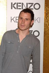 Ruben Ochandiano at the Kenzo Summer Party.