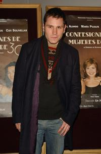Ruben Ochandiano at the premiere of