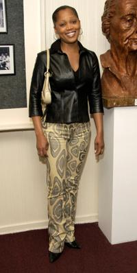 Theresa Randle at the opening night of