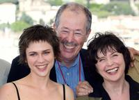 Marie-Josee Croze, Denys Arcand and Dorothee Berryman at the photocall of