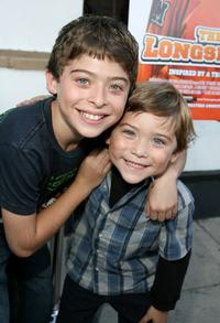 Ryan Ochoa and Raymond Ochoa at the premiere of