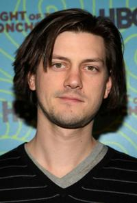 Trevor Moore at the Flight of the Conchords' season 2 viewing party.