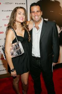 Katie Chonacas and Randall Emmett at the world premiere of