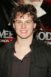 Jonathan Groff at the New York premiere of