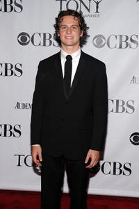 Jonathan Groff at the 64th Annual Tony Awards in New York.