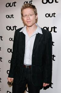 Anthony Rapp at the Out Magazine's 11th Annual