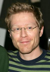 Anthony Rapp at Bloomingdales to promote