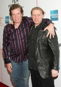 Christopher McDonald and David Rasche at the screening of