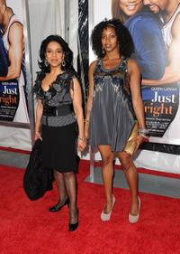 Phylicia Rashad and Condola Rashad at the New York premiere of