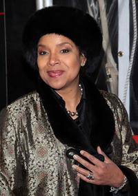 Phylicia Rashad at the New York press meet of