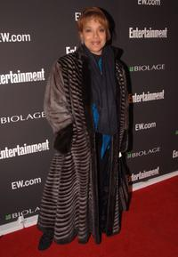 Phylicia Rashad at the Entertainment Weekly's Oscar viewing party.