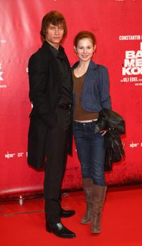 Vinzenz Kiefer and Josefine Preuss at the Berlin premiere of
