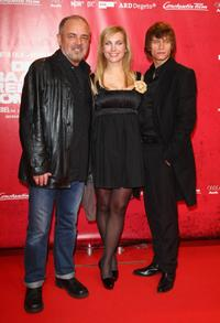 Uli Edel, Nadja Uhl and Vinzenz Kiefer at the Berlin premiere of