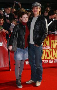 Josefine Preuss and Vinzenz Kiefer at the German premiere of