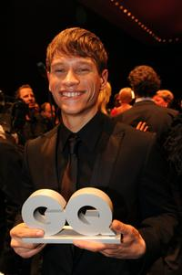 Vinzenz Kiefer at the 2008 GQ Men of the Year Awards.